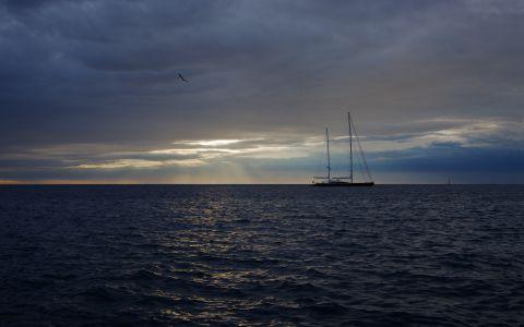 Морской пейзаж №10