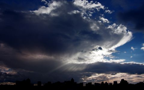 Небо над Киевом