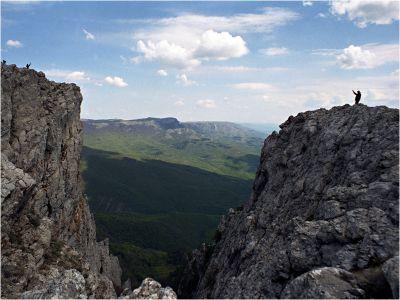 Две скалы. Крым.